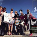 Editorial with fashion bloggers