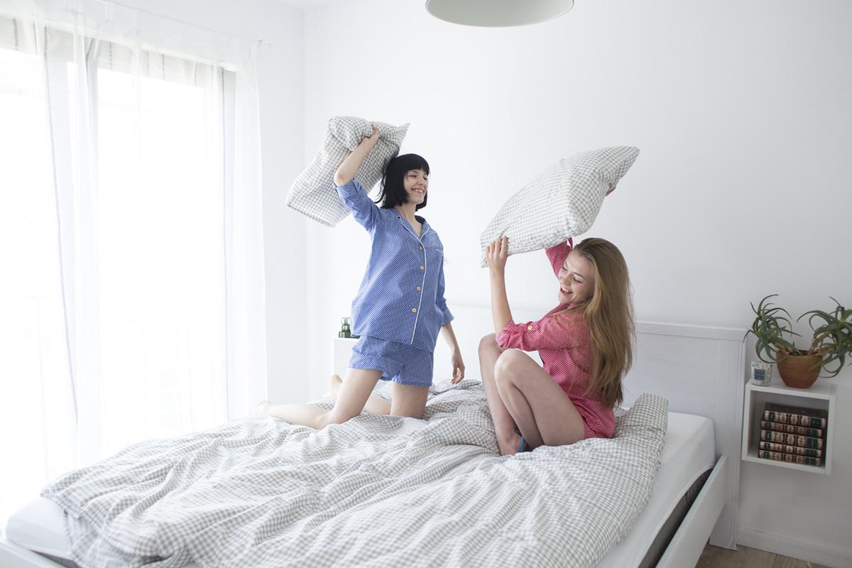 piżama-z-krótkimi-spodenkami-czerwona-11s