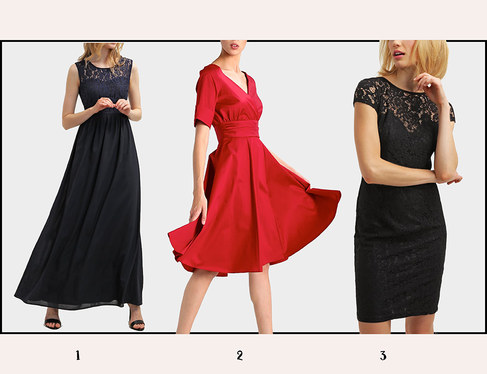 Sukienki na jesień - kolaż 5
