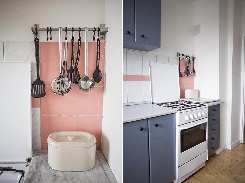 Metamorfoza kuchni - zdjęcie po malowaniu szafek