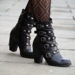 New studded boots.