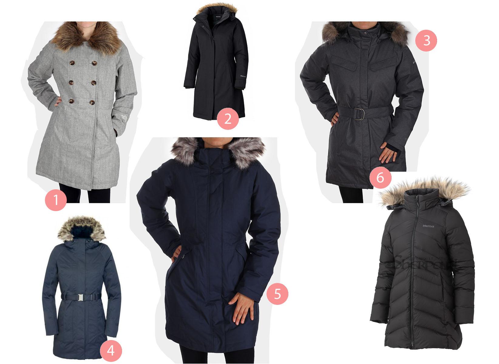 gruba zimowa kurtka jak zwęzić
