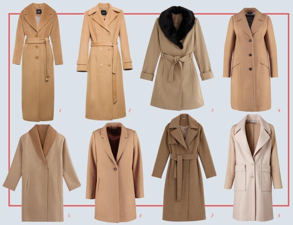 585089e8a4 Beżowe płaszcze na jesień i zimę - Joanna Glogaza