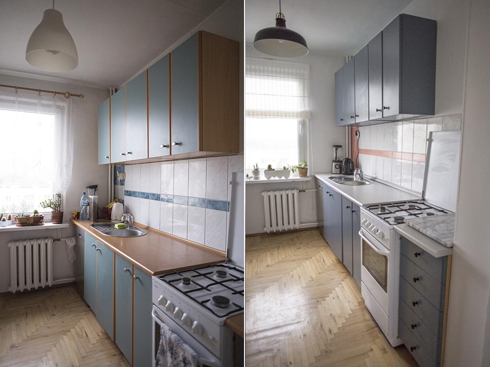 metamorfoza kuchni zdjęcia przed i po jak pomalowa�
