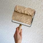 Wałek dekoracyjny – jak malować + wystrój mojej mini sypialni.